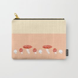 Pattern Amanita muscaria Carry-All Pouch