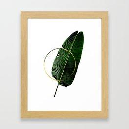 Minimalist Nature II. Graphic Design. Hybrydus. Framed Art Print