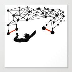 the Trapeze Canvas Print