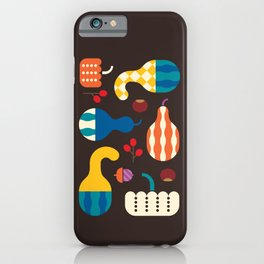 Autumn Gourds iPhone Case