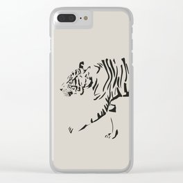 On Patrol Clear iPhone Case
