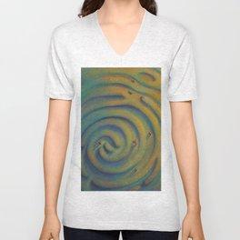 """Imprinted Labyrinth"" Unisex V-Neck"