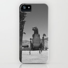 Cabazon T-Rex iPhone Case