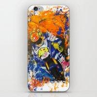 moto iPhone & iPod Skins featuring Moto Splash by Joshua Meno