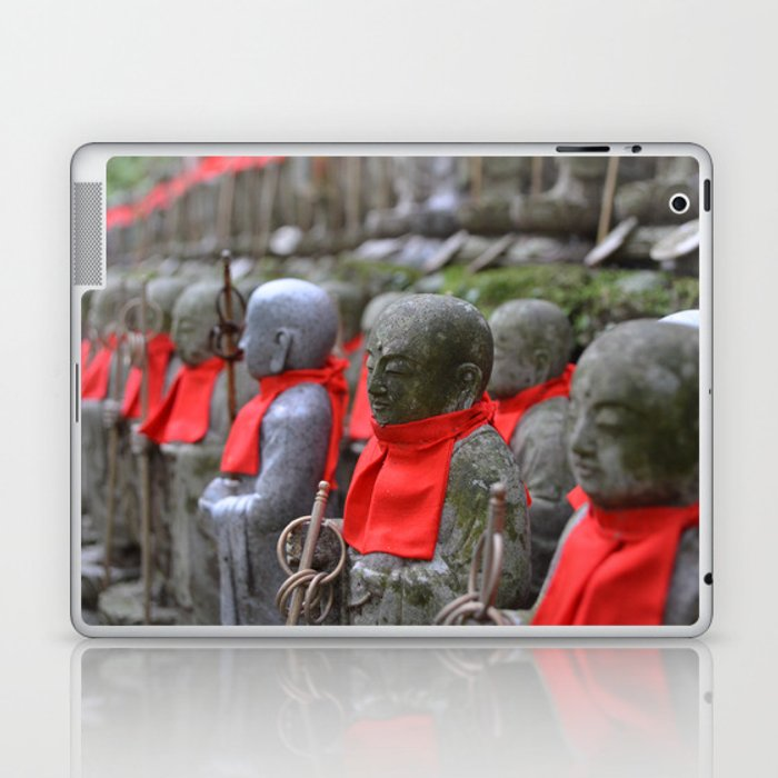 Little Japanese Jizo Laptop & iPad Skin