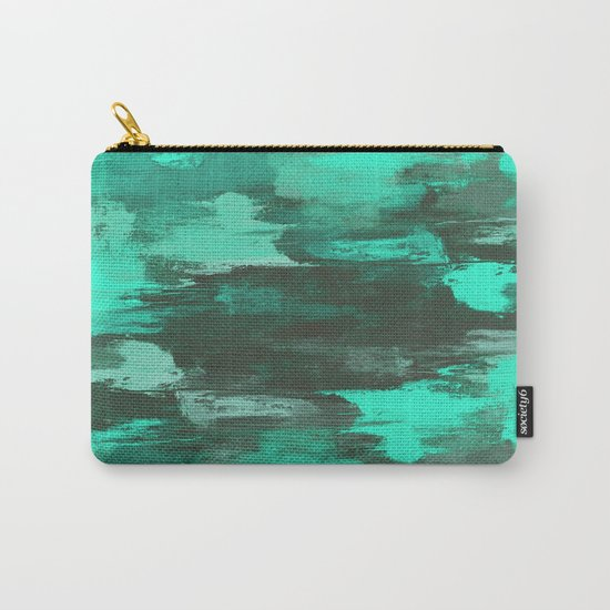 Chill Factor - Abstract in blue Carry-All Pouch
