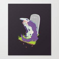 There's Still Bone Beneath the Gums Canvas Print