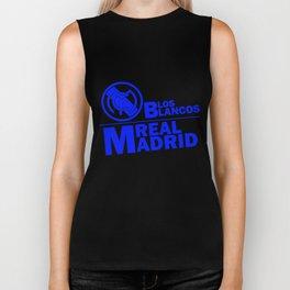 Slogan Real Madrid Biker Tank