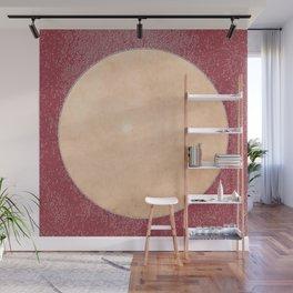 Boston Moon Minimalism Jester Abstract Geometry Wall Mural