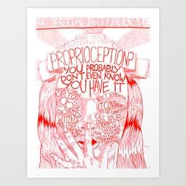Proprioception 1 Art Print