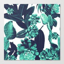 Cactus Design Canvas Print
