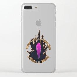 Nostalgic Tee - Dark Crystal Clear iPhone Case