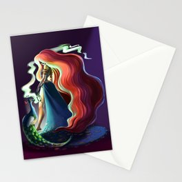 Circe's smoke Stationery Cards