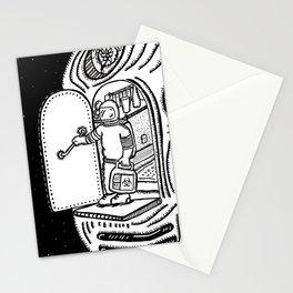 Space Monday/Lunes en en el espacio. Stationery Cards