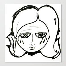 Alison. Canvas Print
