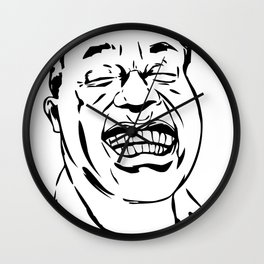 Face Louis Armstrong Wall Clock