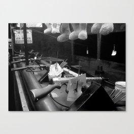 Bunnies and Guns Canvas Print