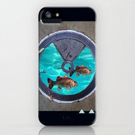 glitterfish iPhone Case