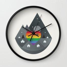 Love & Equality Wall Clock