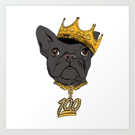 The Notorious D.O.G.  Aka Doggy Smalls. - 751.1 Art Print