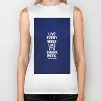 30 rock Biker Tanks featuring 30 Rock - Tracy Jordan by lissalaine