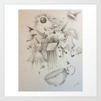 Coffee timer Art Print