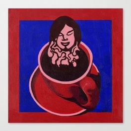 Black Coffee IV Canvas Print