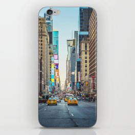 Sunset on 7th Avenue iPhone Skin