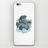 yeti iPhone & iPod Skins featuring Yeti by David Comito