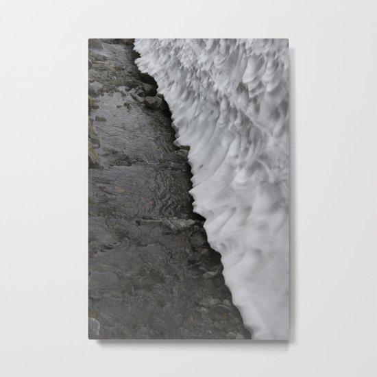 Melting Point Metal Print