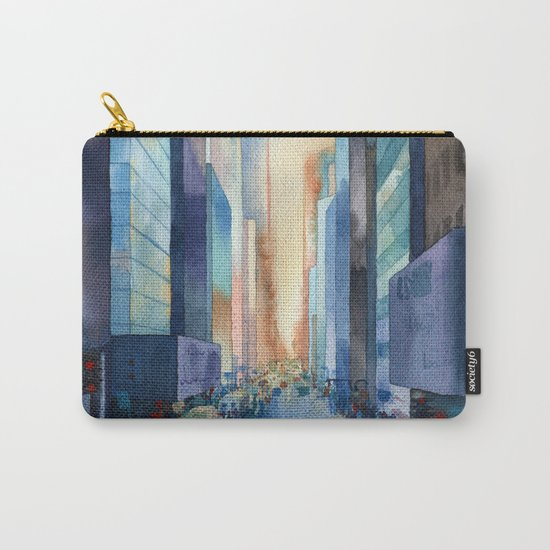 New York. Streets Carry-All Pouch