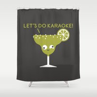 finland Shower Curtains featuring Marge in Charge by David Olenick