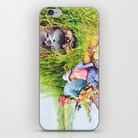 hippo iPhone & iPod Skins featuring hippo! by Rose Rigden
