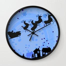 SAINT NICK Wall Clock