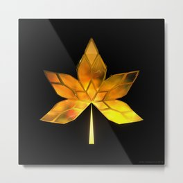 Autumn Leaves: Frame 200 Metal Print