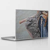 cracked Laptop & iPad Skins featuring Cracked by Todd Langland