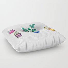 Flower pots Floor Pillow