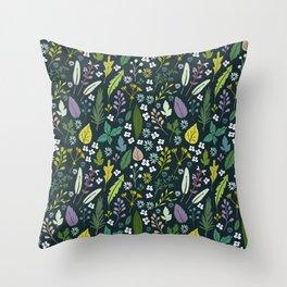 Herbal dream Throw Pillow