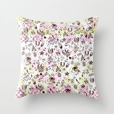TATTOOS LOVE Throw Pillow