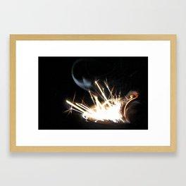 Lit #1 Framed Art Print