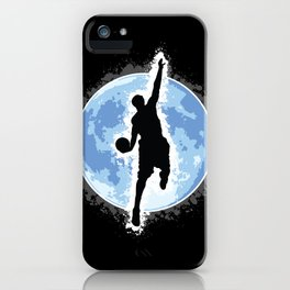 Shoot for the moon! iPhone Case
