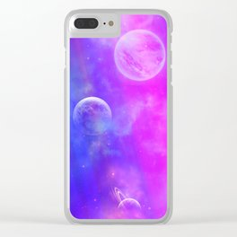 Other Worldly Clear iPhone Case