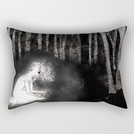 She Wails In Anguish Rectangular Pillow