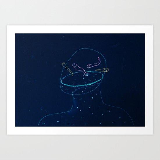 thin membrane Art Print