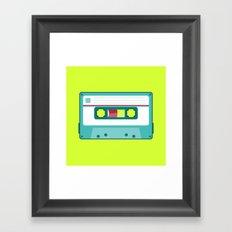 #54 Cassette Framed Art Print