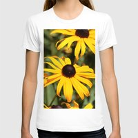 dentist T-shirts featuring Happy Flowers by IowaShots