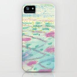Bora Bora - The Beautiful Sea iPhone Case