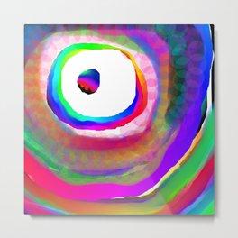 Space Rainbow Metal Print