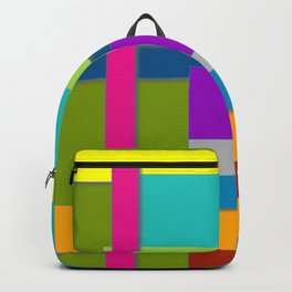 Colorful Artwork, Colorful Design, Graphic Design, Colorful Rectangles Backpack