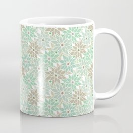 Seamless floral pattern Coffee Mug
